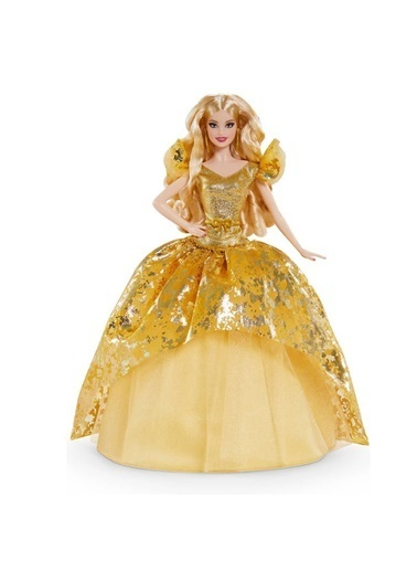 Barbie Barbie 2020 Sarışın Mutlu Yıllar Bebeği Renkli
